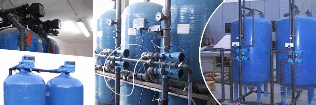 Impianti industriali filtrazione e addolcimento Aquatecnica