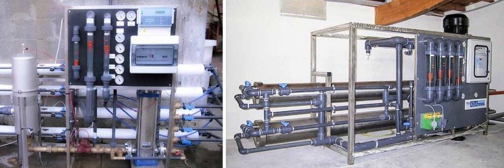 Impianti osmosi inversa Aquatecnica